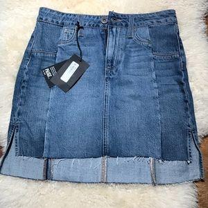 PAIGE Vintage Adrian Denim Skirt